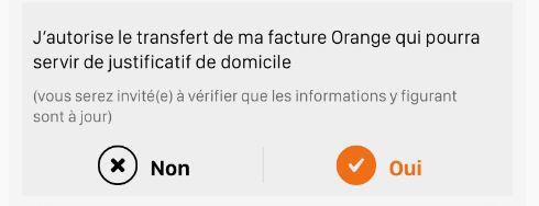 Orange Banque Home Verify